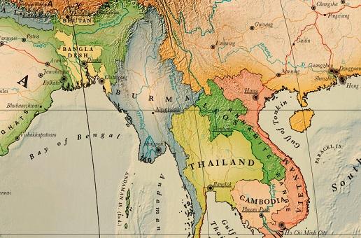 Carte Routiere De La Birmanie.Carte De La Birmanie Detaillee A Imprimer Noobvoyage Fr