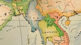 carte birmanie détaillée