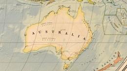 carte australie détaillée