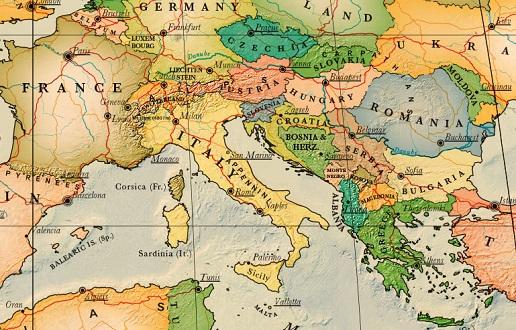 Carte Routiere France Italie.Carte De L Italie Detaillee A Imprimer Noobvoyage Fr