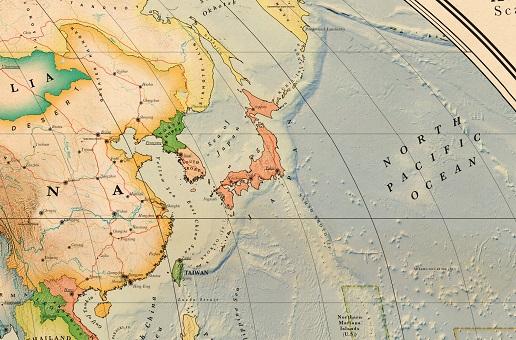 carte japon détaillée