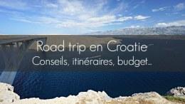 road trip croatie