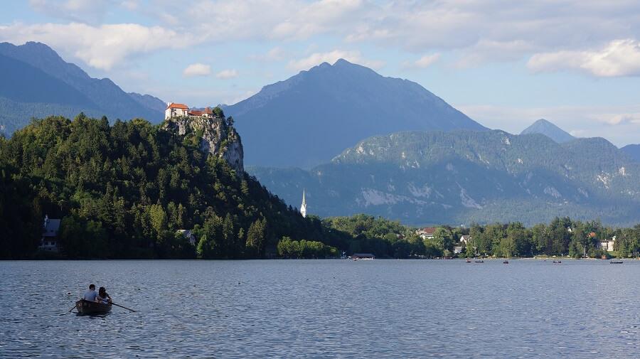 lac bled en slovénie