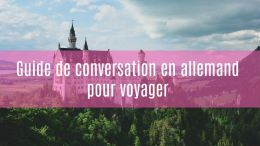 guide de conversation allemand