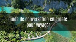 guide de conversation croate