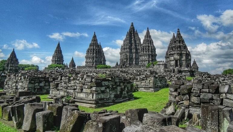 Temple de Prambanan indonesie