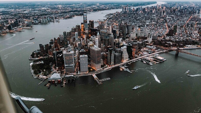 tour en hélicoptère new york