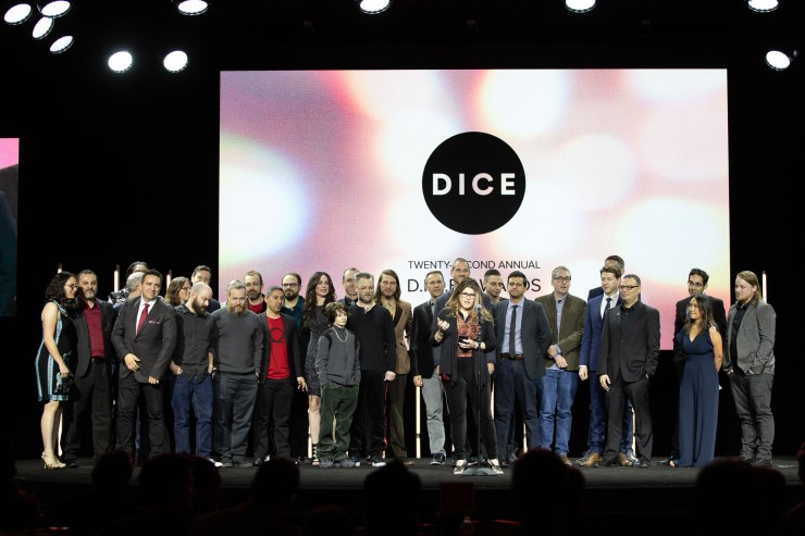 22nd Annual D.I.C.E. Awards - GOTY Winner
