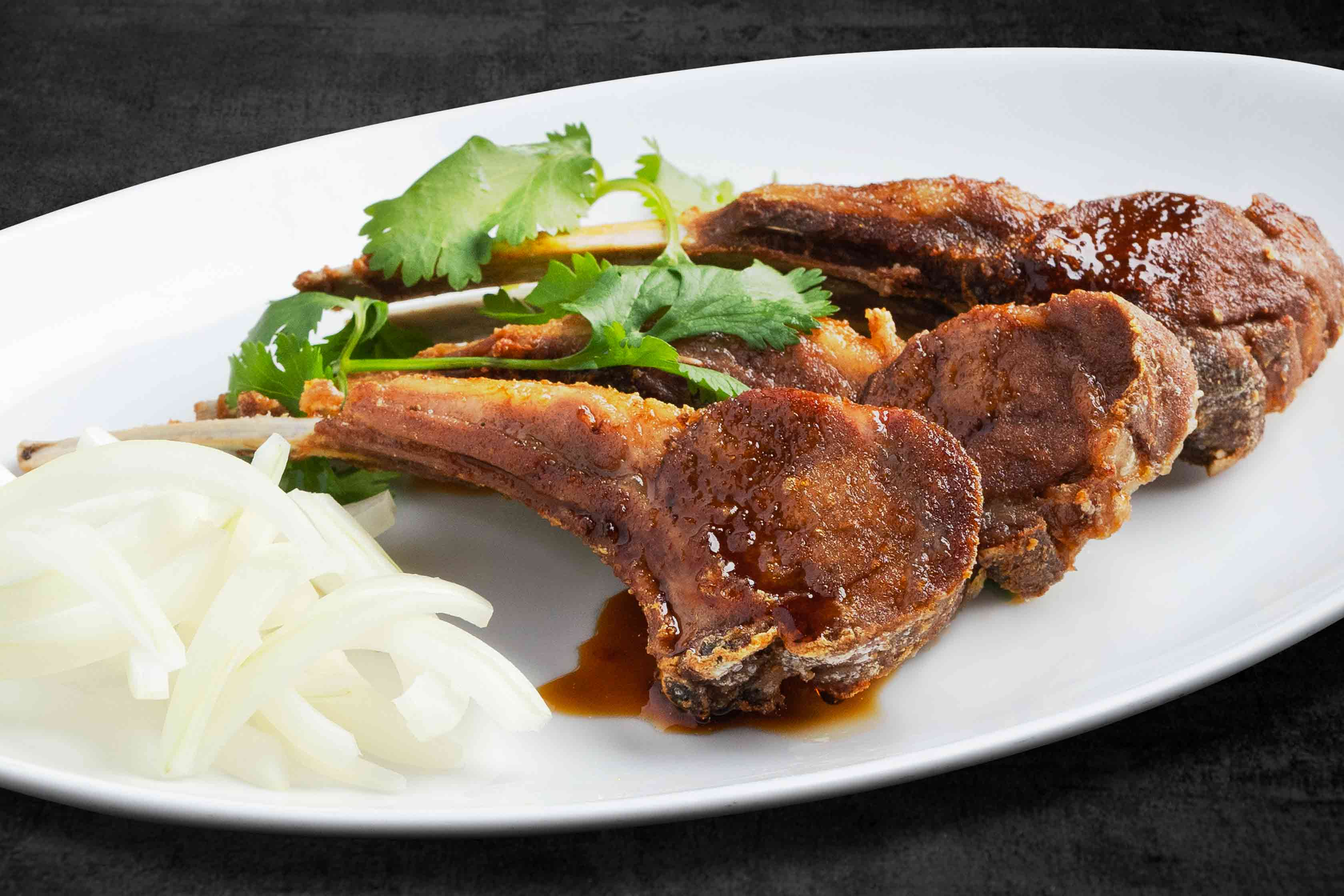 Fried Lamb Chops