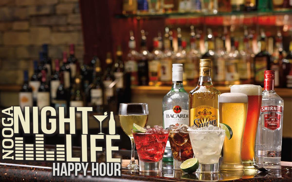 Chattanooga Happy Hours Nooga Nightlife