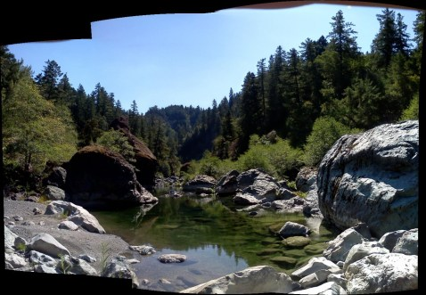 Mad RIver Pools and Rocks!