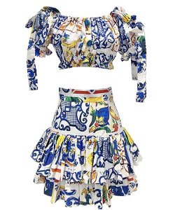 Produktfoto Sommerkleid 2-teilig von vorne