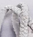 Bandage Bodycon Kleid silber