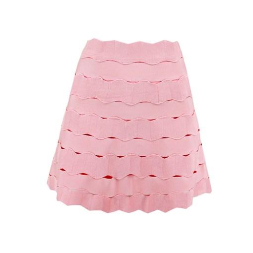 Bandage Bodycon Rock Mini rosa