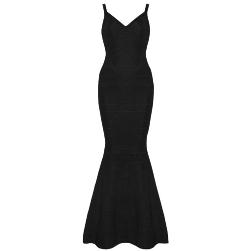 Bandage Abendkleid schwarz