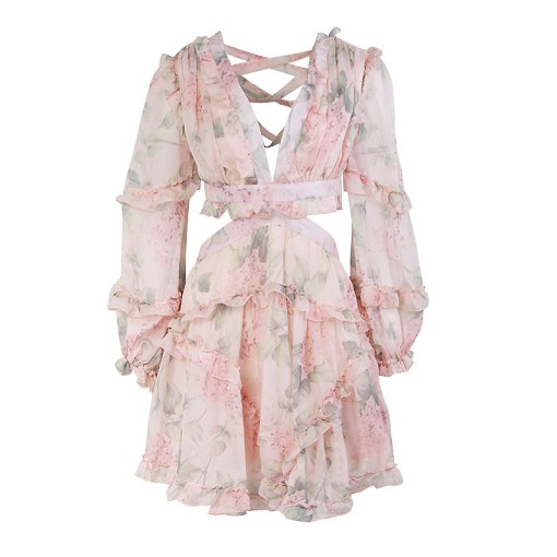 Produktbild Kleid mit Rüschen- von vorne