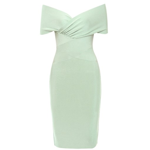 Bandage Kleid lindtgrün