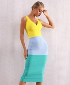Modelbild Sommerkleid knielang