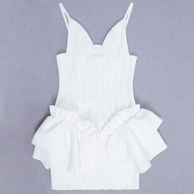 Produktbild Minikleid weiss liegend