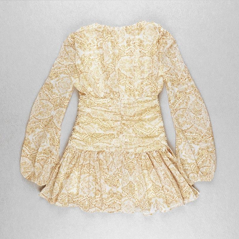 Produktbild Sommerkleid gelb liegend