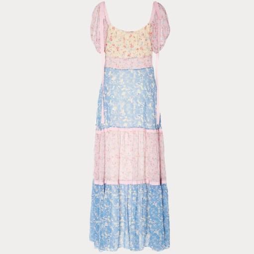 Detailaufnahme Kleid im Boho-Style von hinten