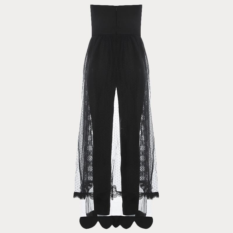 Produktbild Jumpsuit schwarz von hinten