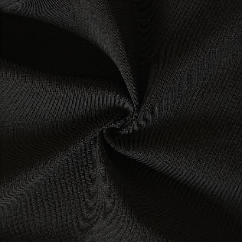 Materialaufnahme Spaghettikleid schwarz