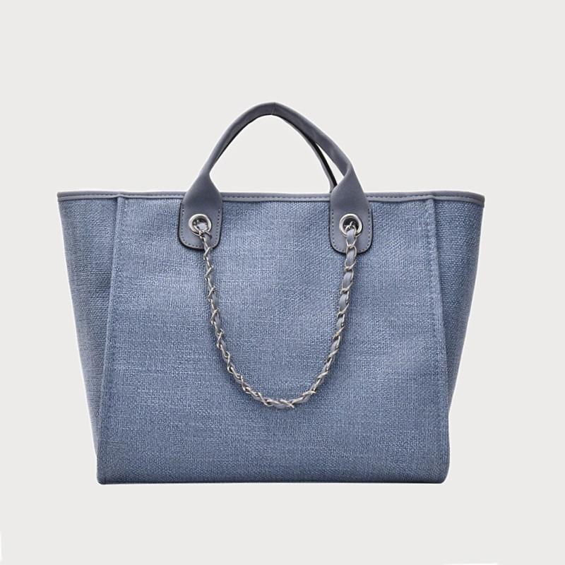 Produktfoto von vorne Tasche Canvas blau