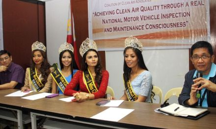 "COALITION OF CLEAN AIR ADVOCATES (CCAA) "" BEAUTIES AGAINST AIR POLLUTION"" PRESS CONFERENCE:"