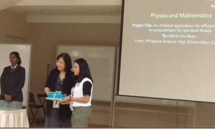 Pisay stude is best oral presentor in int'l science fair
