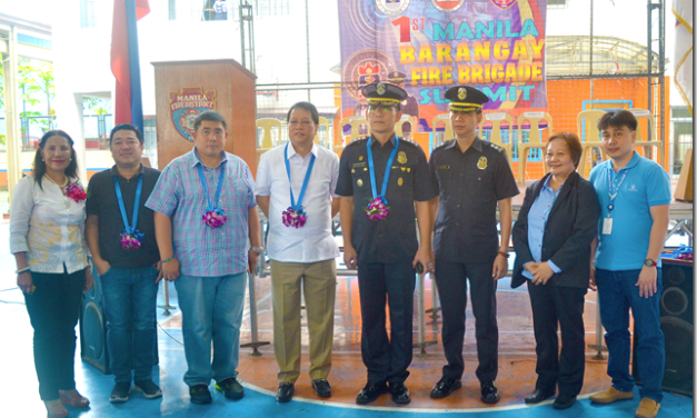 Manila Fire District Conducts 1st Manila Fire Brigade Summit