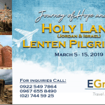 Holy Land Lenten Pilgrimage