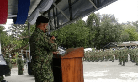 291 NEW COPS COMPLETE BISOC TRAINING FOR ANTI-INSURGENCY