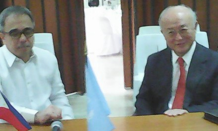 IAEA Director General Amano Visits PNRI