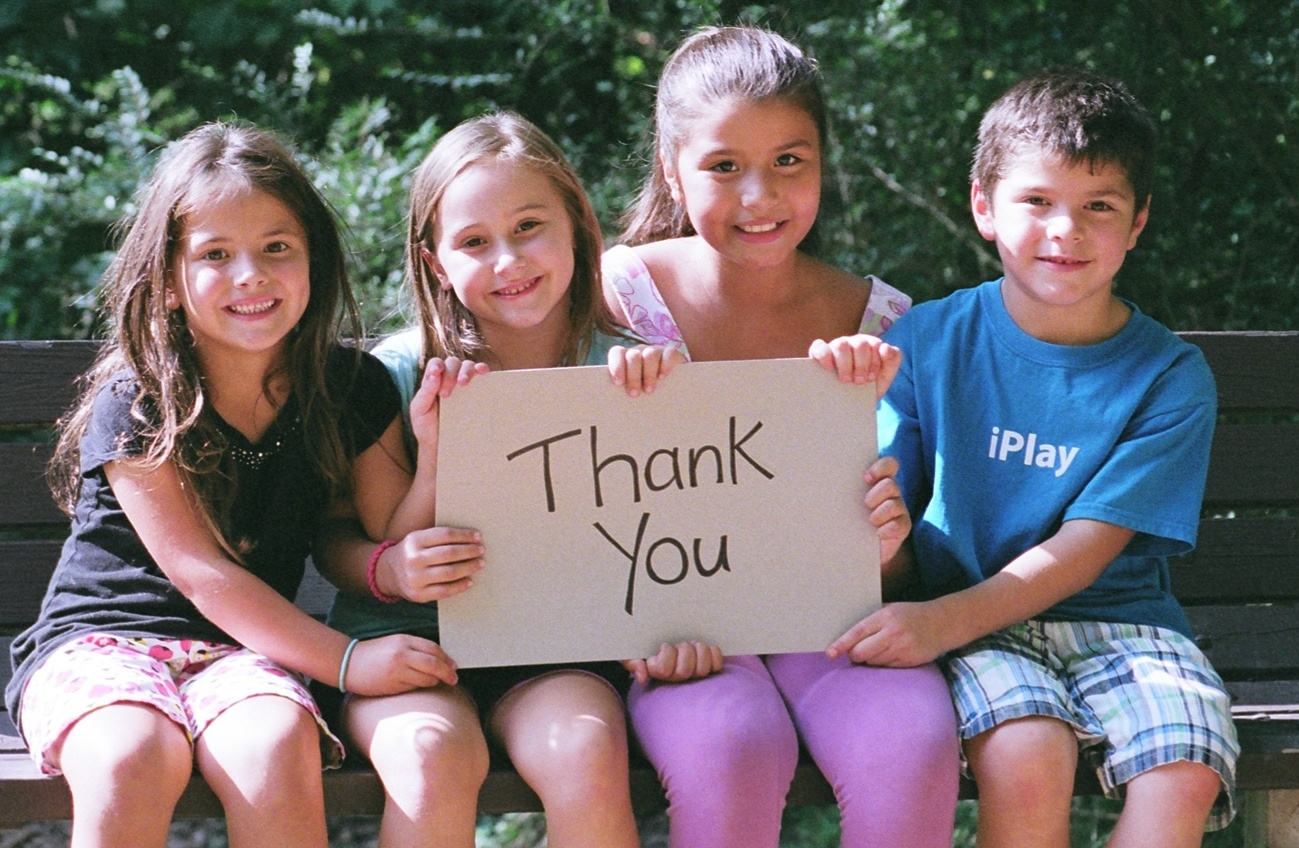 Thank You Kids Bench