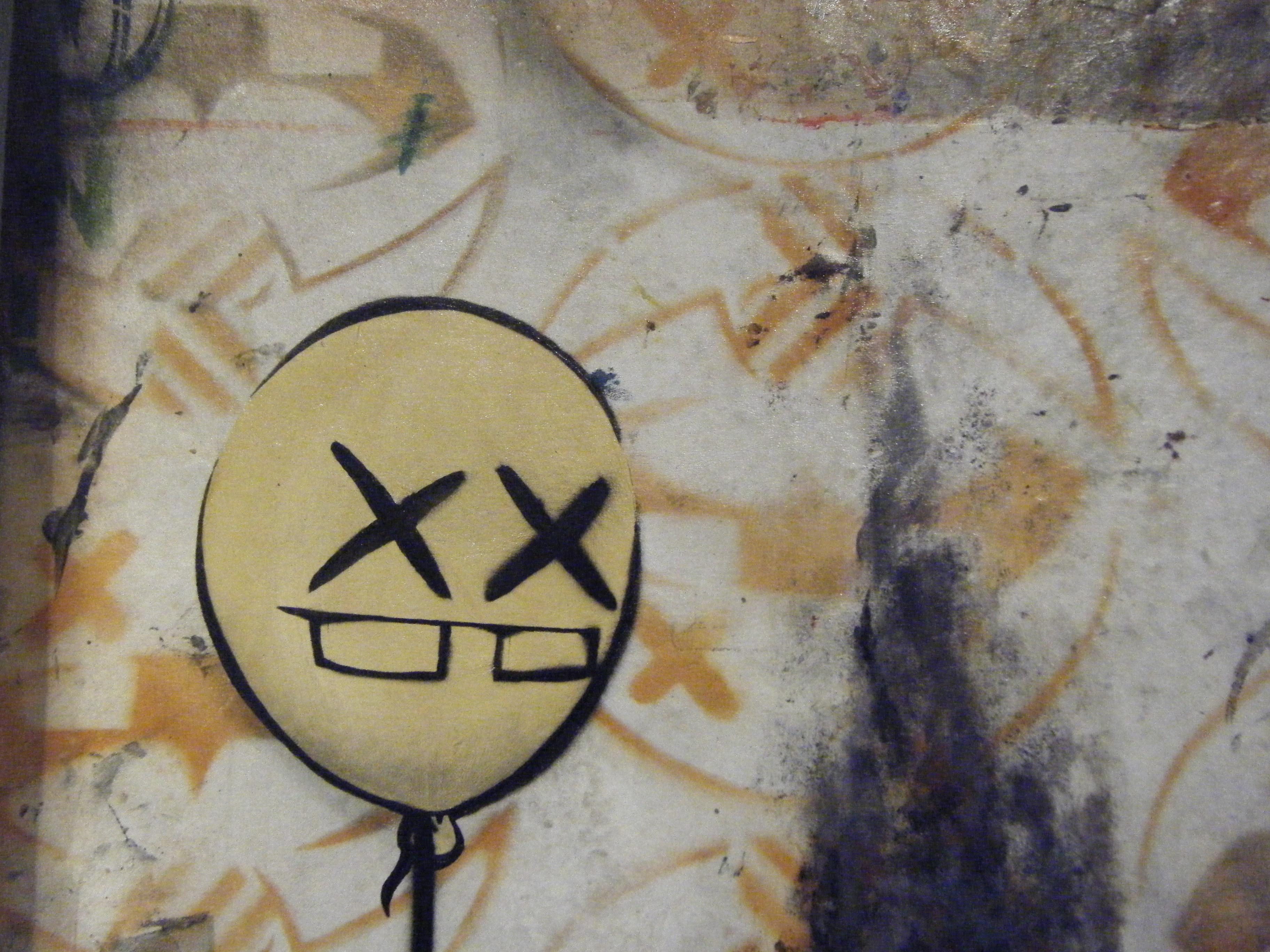 close up of Penguitoast, balloon
