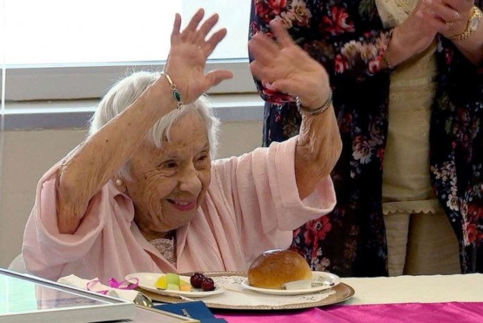 Woman Says Secret of long life is to not get married