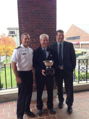 Mike (Left) and Patrick (Right), along with their father, Tom Kelley (Center), will contend for the 'Kelly Cup' tomorrow afternoon! (Photo Credit: Matt Noonan for NoontimeSports.com)