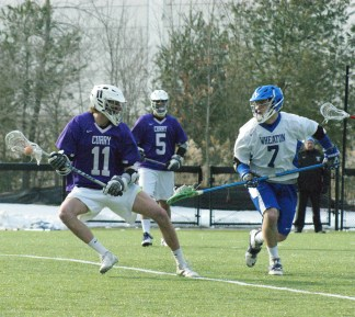 Wheaton's men's lacrosse team is currently receiving votes in this week's NEILA D3 Poll. (Photo Credit: Matt Noonan)