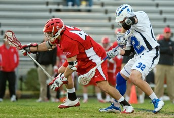 Max Seibald - a Cornell Big Red men's lacrosse alum - recorded a hat trick this afternoon in the Boston Cannons' season-opener. (Photo Credit: Lax.com)