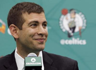 Brad Stevens and the Boston Celtics begin their postseason play on Sunday against the Cleveland Cavaliers, and after a semi-successful season, there is optimism surrounding the Green and White. (Photo Credit: Celtics Hub/CelticsHub.com)