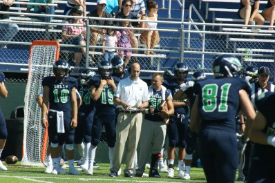 Endicott College first-year head coach Kevin DeWall plans to utilize positive plays to assist the Gulls moving forward. (Photo Credit: Matt Noonan/NoontimeSports.com)