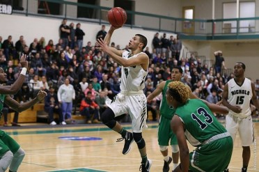 Nichols' Marcos Echevarria and the Bison host Wentworth on Saturday in a pivotal conference clash. (Photo Credit: Nichols College Athletics)