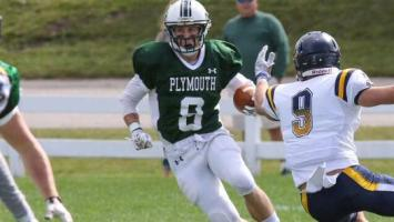 Blair Zentek was tabbed this week's MASCAC Defensive Player of the Week. (Photo Credit: MASCAC & Plymouth State Athletics)