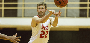 WPI's Connor Willgress was tabbed this week's WACBA Men's Player of the Week after an impressive performance last week against Worcester State. (PHOTO CREDIT: WPI Athletics/Frank Poulin)