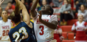 Ama Biney was tabbed this week's WACBA Women's Player of the Week after an impressive effort in a trio of games last week. (PHOTO CREDIT: Frank Poulin)