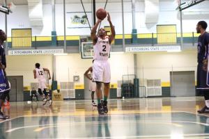 Fitchburg State's Jaleel Bell was one of two student-athletes to earn this week's WACBA Player of the Week honors. (PHOTO CREDIT: Fitchburg State Athletics)