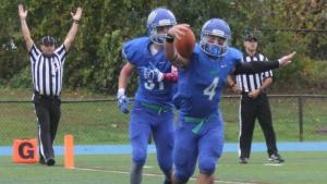 Expect another big day from Salve Regina halfback Sam Pascale. (Photo Credit: Salve Regina Athletics)
