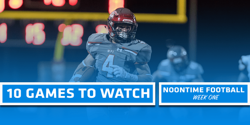 10 Games To Watch Week One 2018