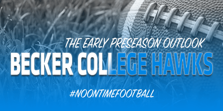 BECKER COLLEGE HAWKS 2019